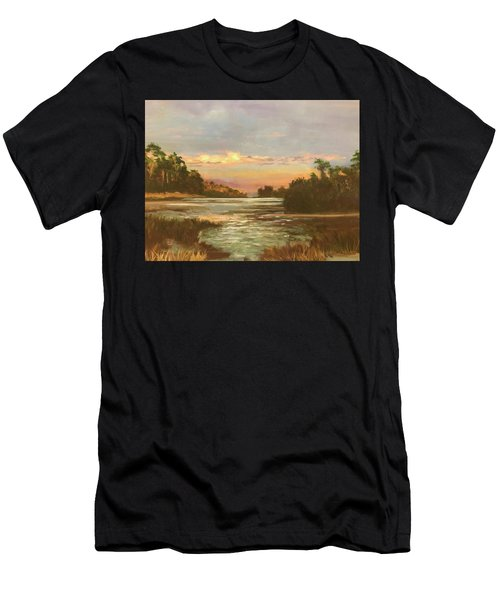 Low Country Sunset Men's T-Shirt (Athletic Fit)