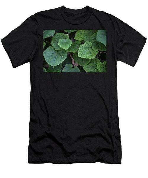 Low Key Green Vines Men's T-Shirt (Athletic Fit)