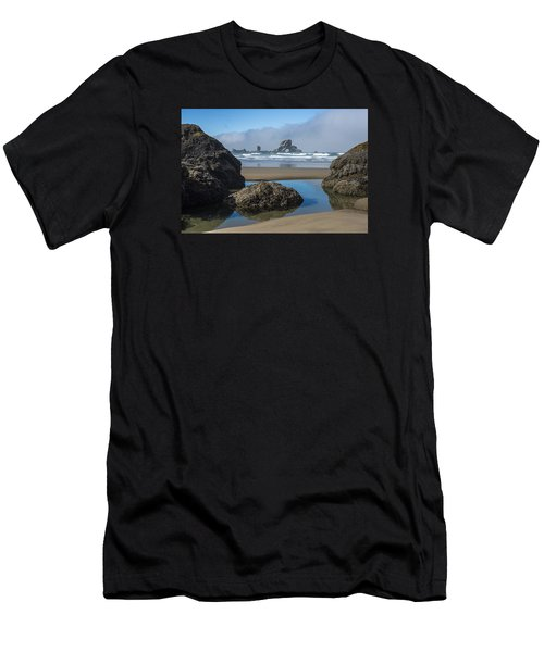 Low Tide At Ecola Men's T-Shirt (Athletic Fit)