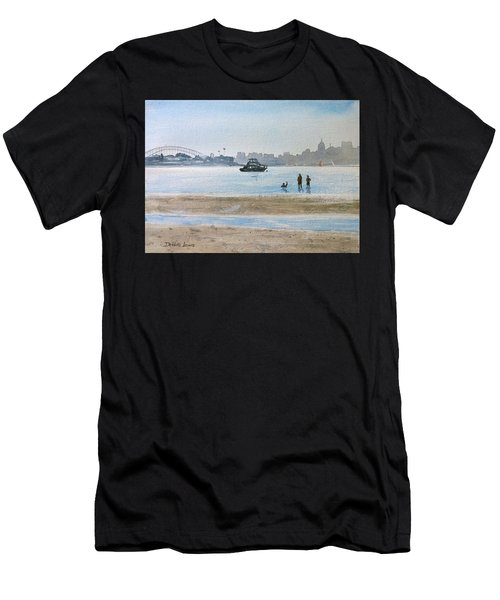 Low Tide At Rose Bay Men's T-Shirt (Athletic Fit)
