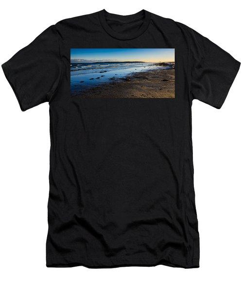 Low Tide In Winter Men's T-Shirt (Athletic Fit)