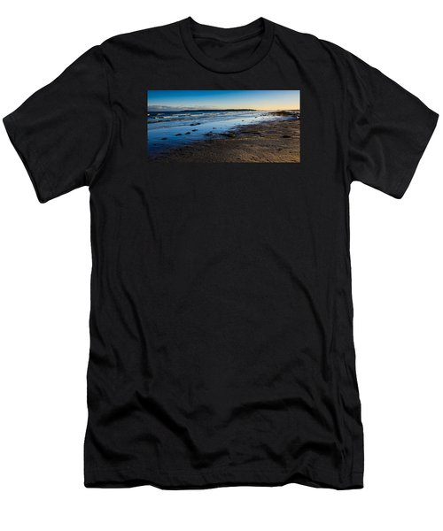 Low Tide In Winter Men's T-Shirt (Athletic Fit)
