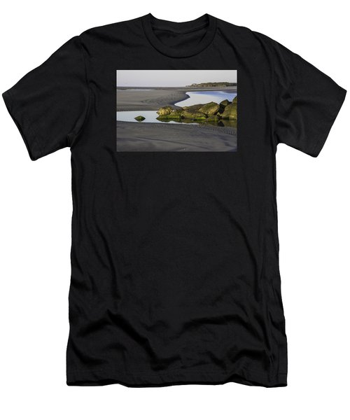 Low Tide On Tybee Island Men's T-Shirt (Athletic Fit)