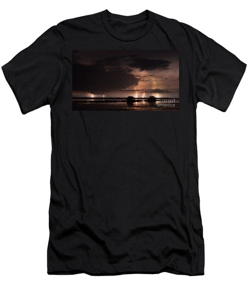 Low Tide With High Energy Men's T-Shirt (Athletic Fit)