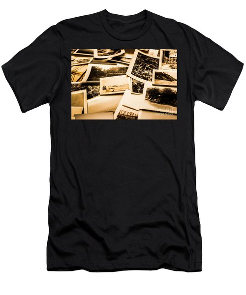Lowdown On A Vintage Photo Collections Men's T-Shirt (Athletic Fit)