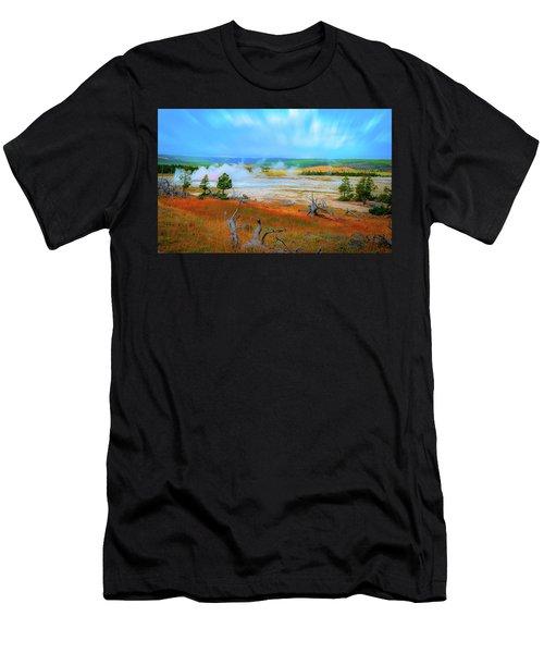 Lower Basin Men's T-Shirt (Athletic Fit)