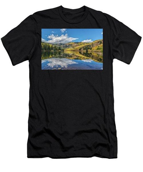 Lower Cataract Lake Aspen Men's T-Shirt (Athletic Fit)