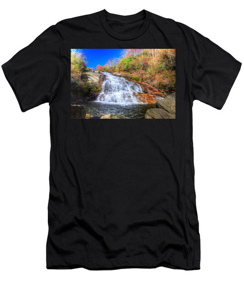 Lower Falls At Graveyard Fields Men's T-Shirt (Athletic Fit)
