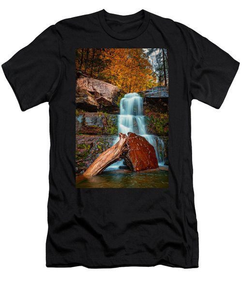Lower Falls At Kaaterskill Men's T-Shirt (Athletic Fit)