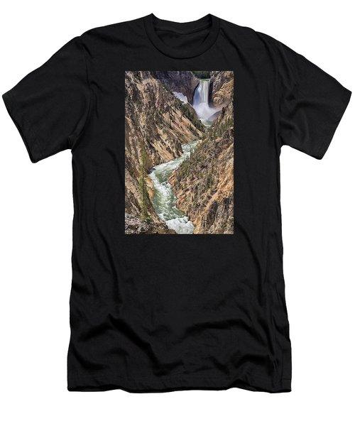 Lower Falls Men's T-Shirt (Athletic Fit)