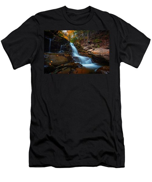 Lower Kaaterskill Falls Men's T-Shirt (Athletic Fit)