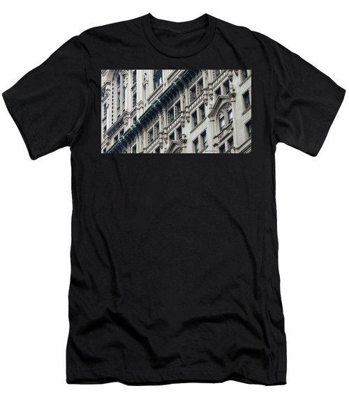 Lower Manhattan Men's T-Shirt (Athletic Fit)