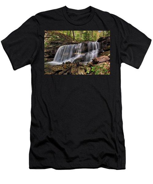Lower Tews Falls Men's T-Shirt (Athletic Fit)