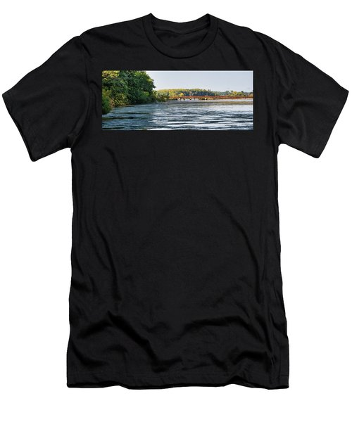 Lower Yahara River Trail - Madison - Wisconsin Men's T-Shirt (Athletic Fit)
