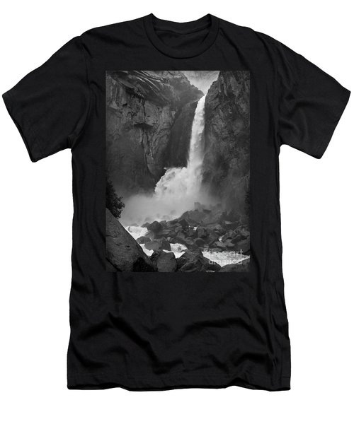 Lower Yosemite Falls Men's T-Shirt (Athletic Fit)