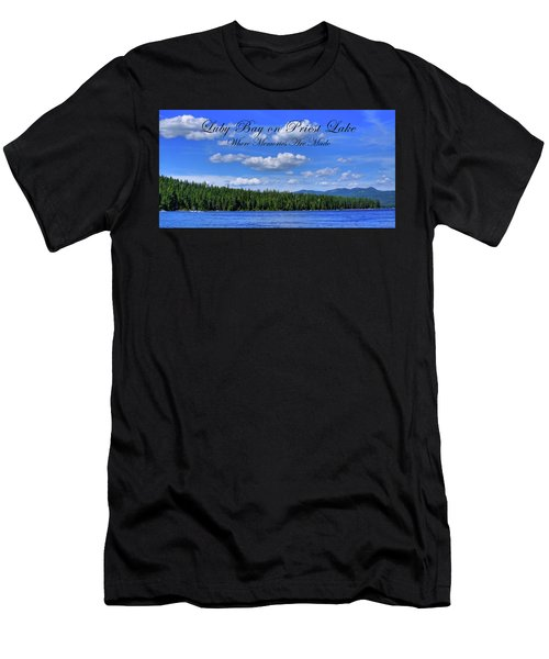 Luby Bay On Priest Lake Men's T-Shirt (Athletic Fit)