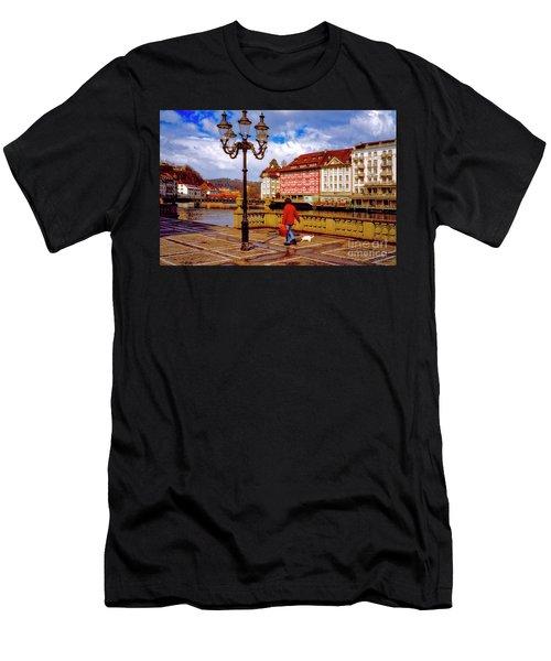 Lucerne Spring Men's T-Shirt (Athletic Fit)