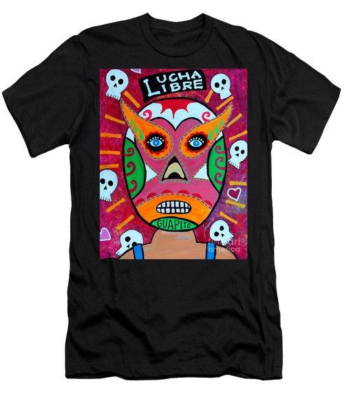 Lucha Libre Men's T-Shirt (Athletic Fit)