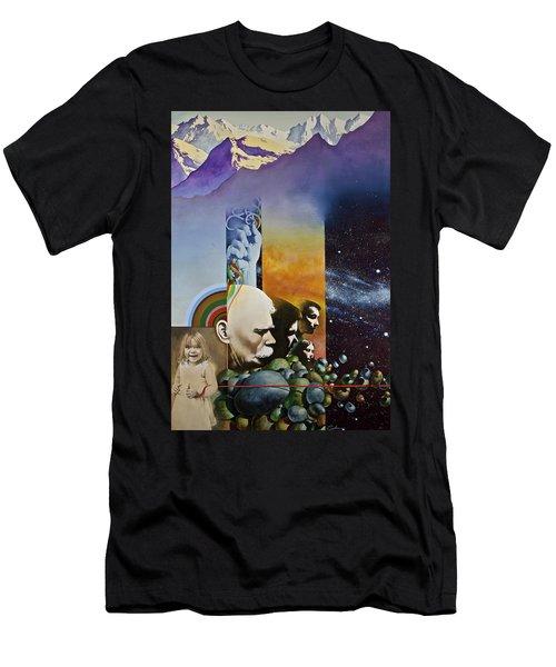 Lucid Dimensions Men's T-Shirt (Athletic Fit)
