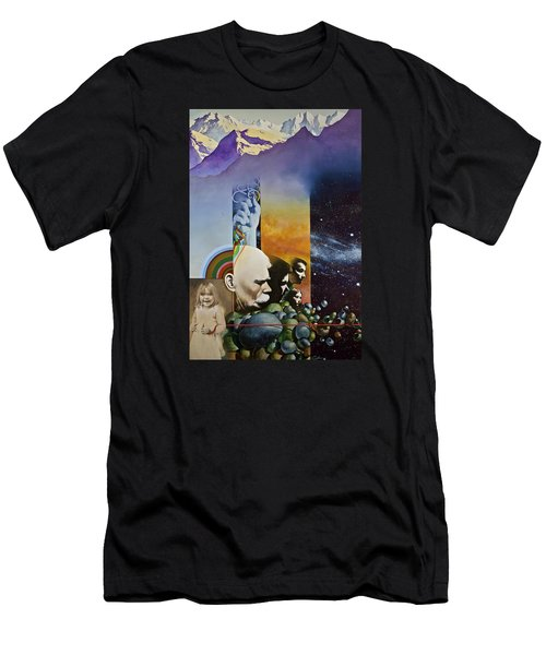 Lucid Dimensions Men's T-Shirt (Slim Fit)
