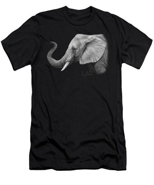 Lucky - Black And White Men's T-Shirt (Athletic Fit)