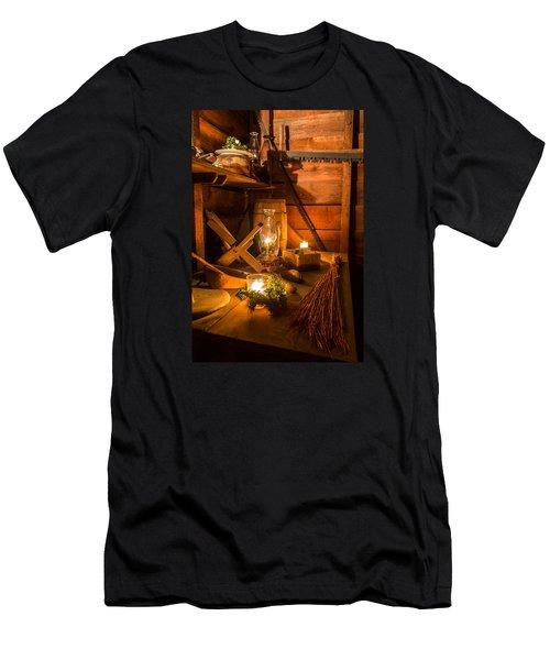 Lucky Joe-1 Men's T-Shirt (Athletic Fit)