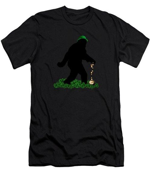 Lucky Sasquatch Men's T-Shirt (Athletic Fit)