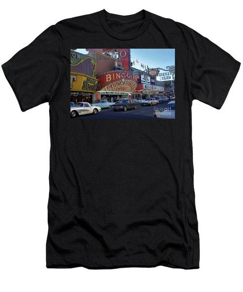 Lucky Strike Club, Las Vegas Men's T-Shirt (Athletic Fit)