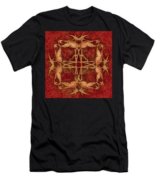 Lucky Zen Fly Bi Men's T-Shirt (Athletic Fit)