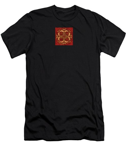 Lucky Zen Fly Bi Men's T-Shirt (Athletic Fit)
