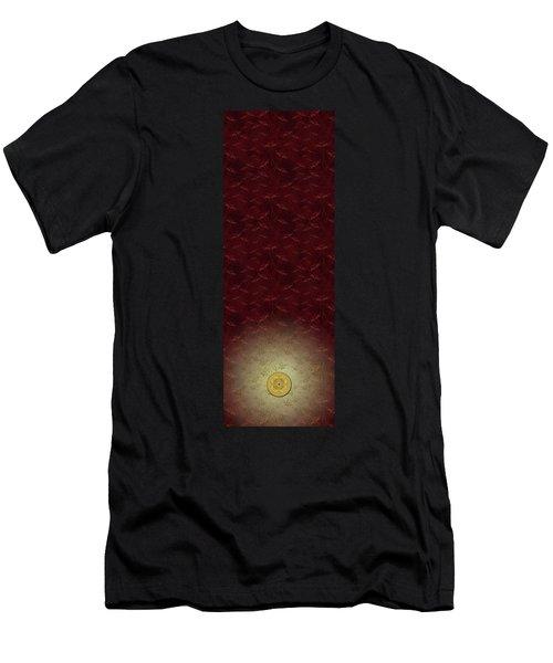 Lucky Zenfly Bi Coin Men's T-Shirt (Athletic Fit)