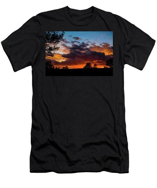 Men's T-Shirt (Athletic Fit) featuring the photograph Luminous Dessert by Jason Coward