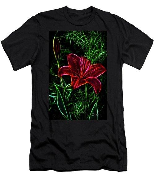 Luminous Lily Men's T-Shirt (Athletic Fit)