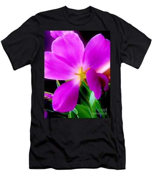Luminous Tulips Men's T-Shirt (Athletic Fit)