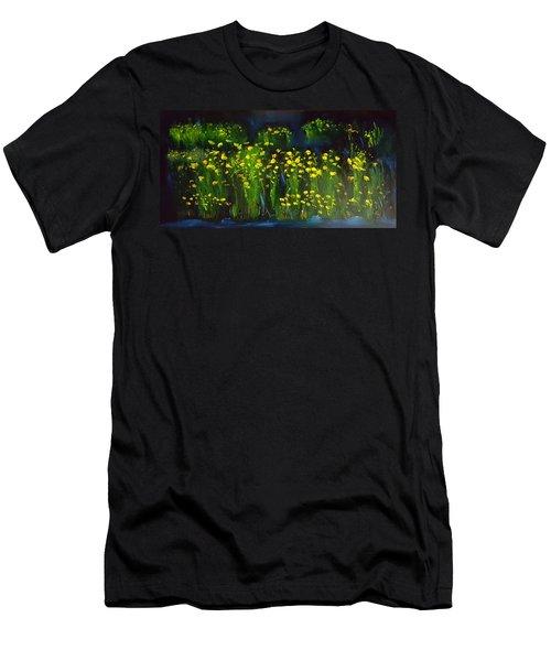 Lumonious Buds     17 Men's T-Shirt (Athletic Fit)
