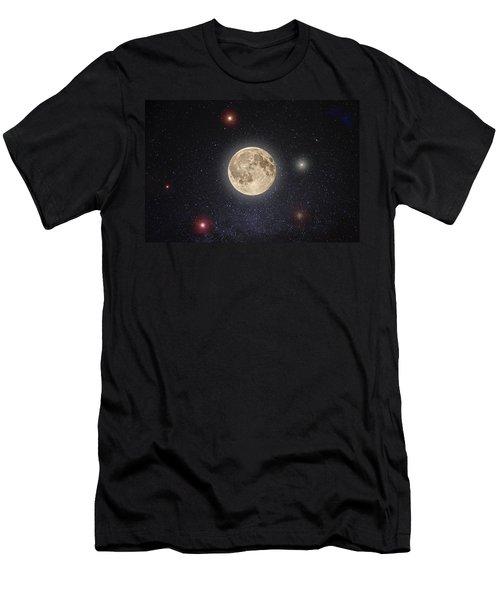Luna Lux Men's T-Shirt (Athletic Fit)
