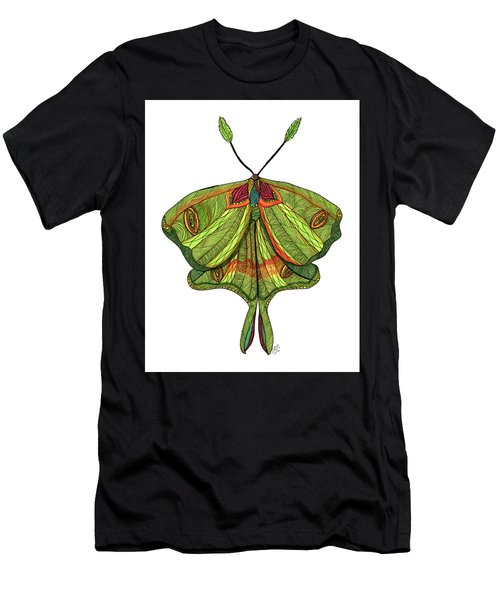 Luna Moth Men's T-Shirt (Athletic Fit)