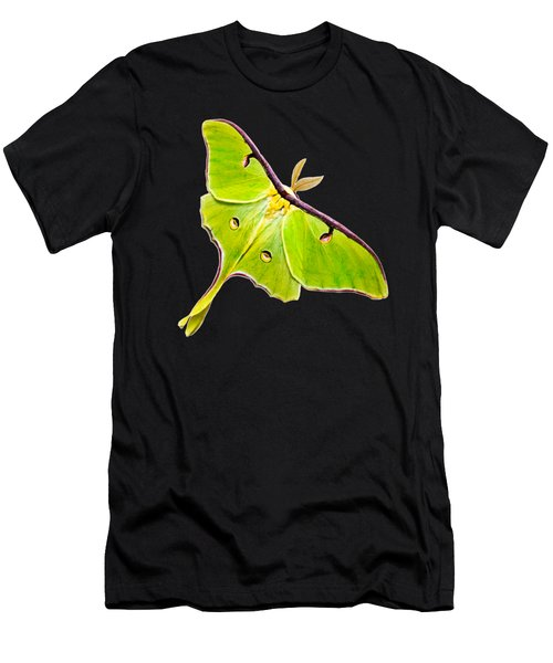 Luna Moth Men's T-Shirt (Athletic Fit)