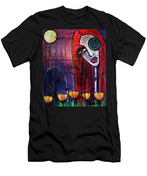 Luna Our Love Muertos Men's T-Shirt (Athletic Fit)
