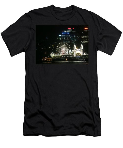 Luna Park Men's T-Shirt (Slim Fit) by Leanne Seymour