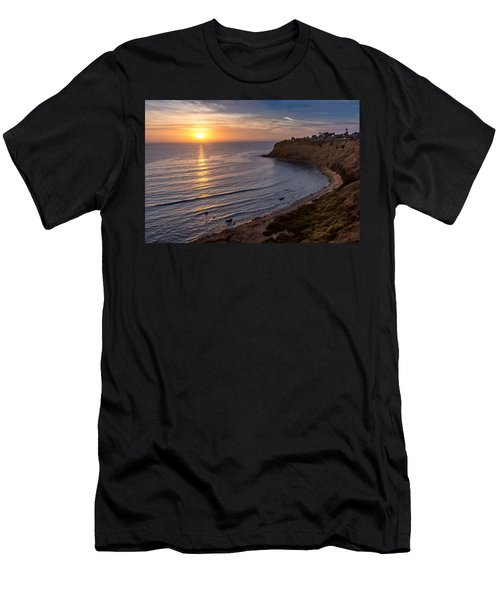 Lunada Bay Sunset Men's T-Shirt (Athletic Fit)