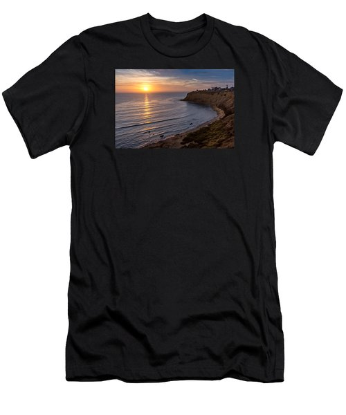 Lunada Bay Sunset Men's T-Shirt (Athletic Fit)
