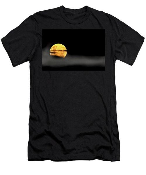 Lunar Mist Men's T-Shirt (Slim Fit) by Marion Cullen