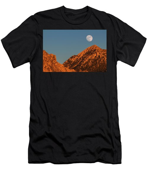 Lunar Sunset Men's T-Shirt (Athletic Fit)