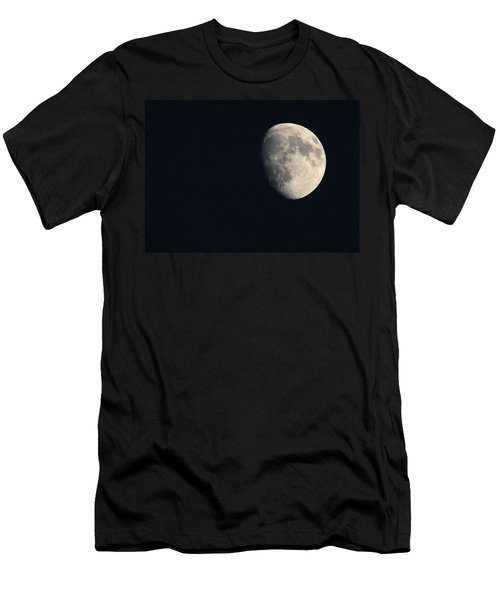 Men's T-Shirt (Slim Fit) featuring the photograph Lunar Surface by Angela Rath