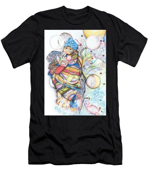 Lunas Y Estrellas Perdidas- Sombra De Arreguin Men's T-Shirt (Athletic Fit)