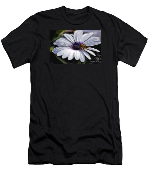 Men's T-Shirt (Slim Fit) featuring the photograph Lunchtime  by Juls Adams