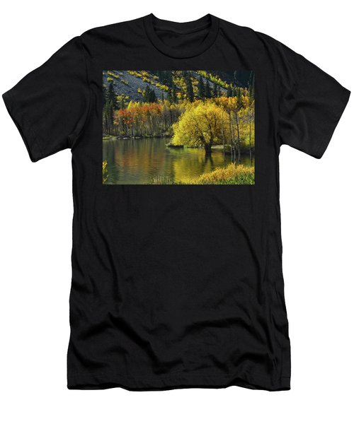 Lundy Lake Beauty Men's T-Shirt (Athletic Fit)