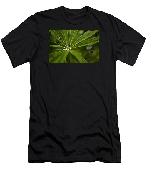 Lupine Leaf Men's T-Shirt (Athletic Fit)