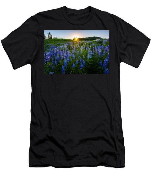 Lupine Meadow Men's T-Shirt (Athletic Fit)